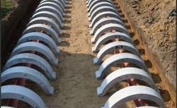 Budowa przydomowej oczyszczalni ścieków z drenażem rozsączającym