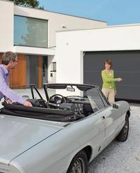Brama garażowa z napędem elektrycznym