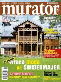 Okładka Muratora 12/2012