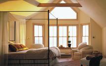 Łóżko z baldachimem, czyli aranżacja romantycznej sypialni. Zdjęcia sypialni jak z bajki