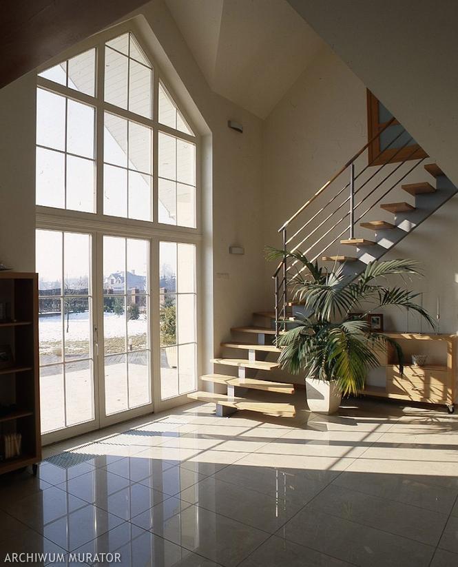 Duże okna w domu