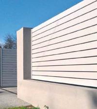 Ogrodzenie murowane z cegieł