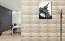 Panele 3D z tworzyw sztucznych. Oryginalny pomysł aranżacji ścian