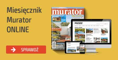 NOWOŚĆ! Cyfrowy dostęp do artykułów z miesięcznika Murator