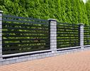 Nowoczesne ogrodzenia betonowe - rodzaje ogrodzeń, łączenie materiałów, warianty kolorystyczne modułów betonowych. GALERIA inspiracji