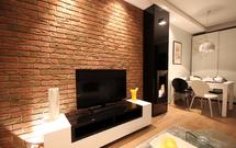 Płytki cegłopodobne we wnętrzach: efektowne wykończenie ścian