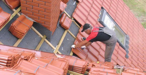 Wymiana dachu - pokrycie dachowe